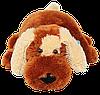 Подушка Алина собачка Шарик 55 см коричневый, фото 3