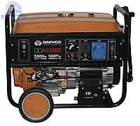 Бензиновый генератор Daewoo GDA 6500E (5кВт, электростартер)