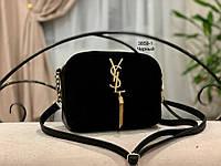 Женская сумка кросс-боди!!!,натуральная замша и кож.зам,3 отделения, фото 2