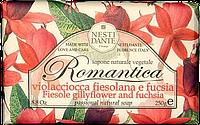 "Мыло ""Фуксия и физалия"" Romantica Nesti Dante, 250 гр"