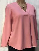 Блуза туника женская Marks&Spencer, офисный стиль большой размер 50/52