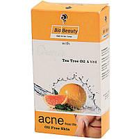 Мыло противоугревое Bio Beauty для жирной кожи с Апельсиновым маслом и Чайного дерева, 100 г