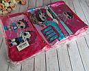Детские кошелечки (сумочки) LOL с длинной ручкой 15*9 см  6 шт/уп., фото 3