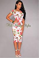 Стильное, брендовое платье с принтом от Hot Miami Style США