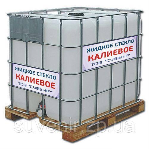 Жидкое стекло калиевое — купить с доставкой по Украине