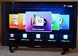 "ХІТ телевізори Samsung SmartTV 32"" UHDTV 3840x2160 4K,LED, IPTV, Android 9, T2, WIFI, USB, фото 5"