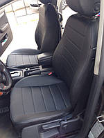 Чехлы на сиденья Ауди А6 С4 (Audi A6 C4) (универсальные, кожзам, с отдельным подголовником)
