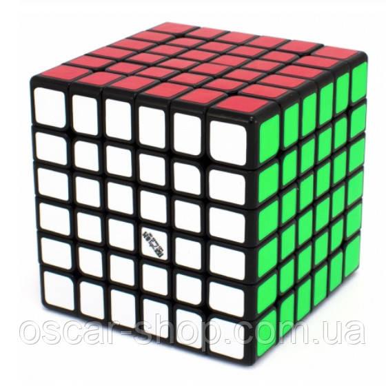 Кубик Рубика QiYi Wuhua 6x6 V2 black / Кубик 6х6 черный