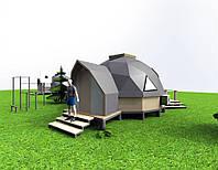 Дом мини дом. Проект TUR-V. Строительство под ключ.