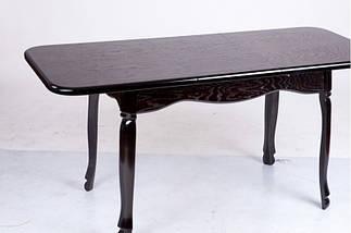 Стол Микс Мебель Гаити Венге кухонный обеденный прямоугольный раскладной , фото 3