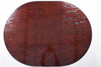 Стол Микс Мебель Гаити круглый Каштан кухонный обеденный круглый раскладной , фото 2