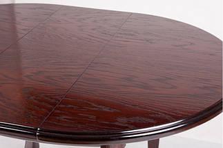 Стол Микс Мебель Гаити круглый Каштан кухонный обеденный круглый раскладной , фото 3