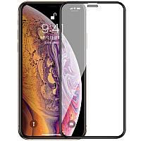 Защитное стекло для Apple Iphone XS Max Full cover черный 0,3 мм в упаковке