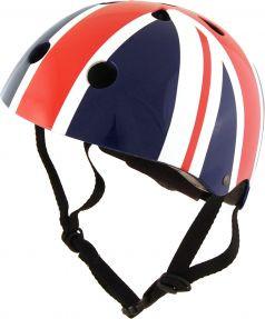 Шлем детский Kiddi Moto размер S 48-53см, британский флаг