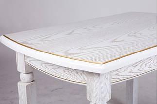 Стол Микс Мебель Кайман Слоновая кость кухонный обеденный прямоугольный раскладной , фото 2
