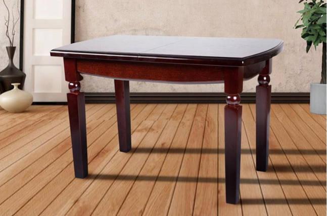Стол Микс Мебель Кайман Каштан кухонный обеденный прямоугольный раскладной , фото 2