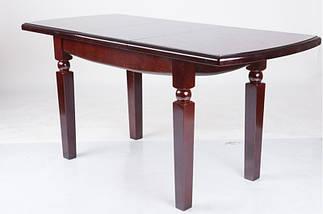 Стол Микс Мебель Кайман Каштан кухонный обеденный прямоугольный раскладной , фото 3