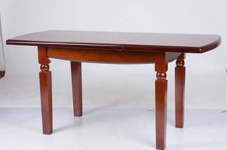 Стол Микс Мебель Кайман Орех кухонный обеденный прямоугольный раскладной , фото 2