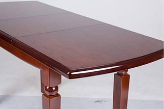 Стол Микс Мебель Кайман Орех кухонный обеденный прямоугольный раскладной , фото 3