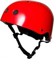 Шлем детский Kiddi Moto размер S 48-53см, красный металлик