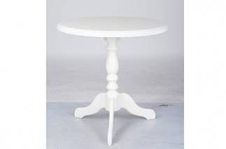 Стол Микс Мебель Одисей Орех круглый кухонный кофейный круглый нераскладной , фото 3