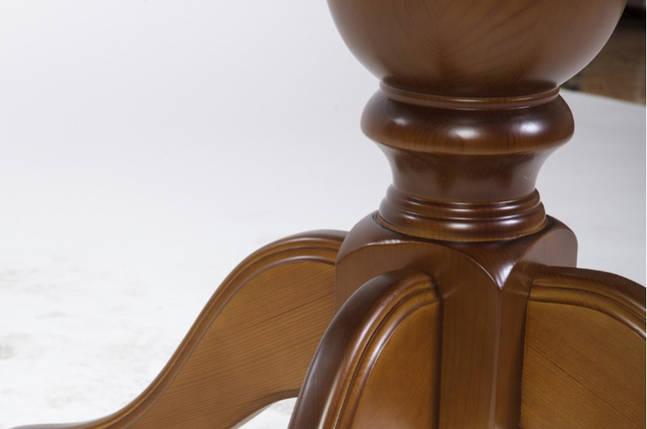 Стол Микс Мебель Триумф Орех рустикаль кухонный обеденный овальный раскладной , фото 2