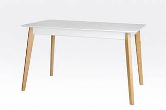 Стол Микс Мебель Сингл ножки дуб кухонный обеденный прямоугольный раскладной, фото 3