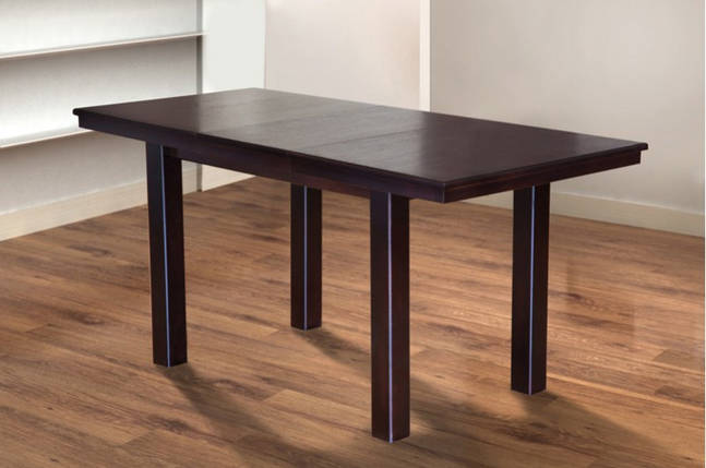 Стол Микс Мебель Европа Венге шоколад кухонный обеденный прямоугольный раскладной, фото 2