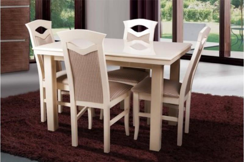 Стол Микс Мебель Европа Слоновая кость кухонный обеденный прямоугольный раскладной