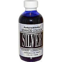 Коллоидное серебро (Colloidal Silver), FutureBiotics, 118 мл