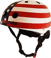 Шлем детский Kiddi Moto флаг USA, размер M 53-58см