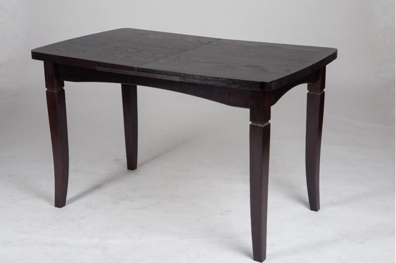 Стол Микс Мебель Леон Венге кухонный обеденный прямоугольный раскладной
