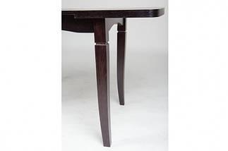 Стол Микс Мебель Леон Венге кухонный обеденный прямоугольный раскладной, фото 2