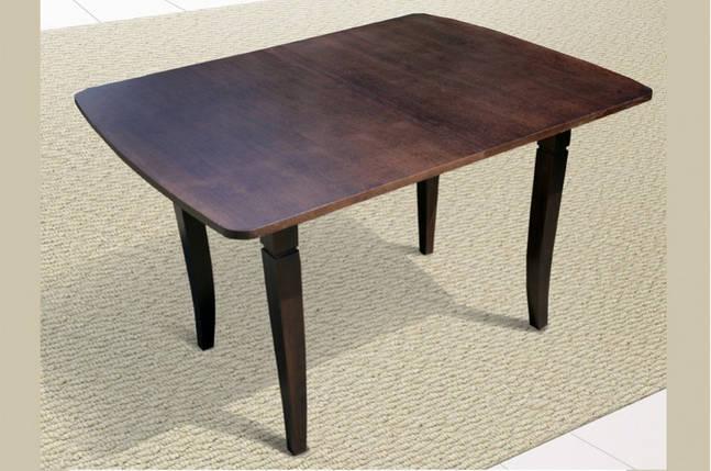 Стол Микс Мебель Эрика Венге кухонный обеденный прямоугольный раскладной, фото 2