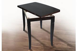 Стол Микс Мебель Эрика Венге кухонный обеденный прямоугольный раскладной, фото 3