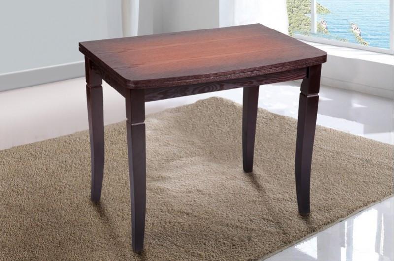 Стол Микс Мебель Эрика Орех патина кухонный обеденный прямоугольный раскладной