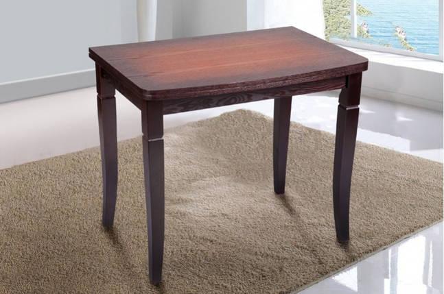 Стол Микс Мебель Эрика Орех патина кухонный обеденный прямоугольный раскладной, фото 2