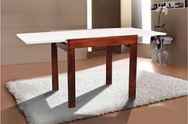 Стол Микс Мебель Слайдер Тёмный орех кухонный обеденный прямоугольный раскладной
