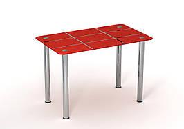 Стол Sentenzo Рэд Таун кухонный обеденный прямоугольный стеклянный нераскладной