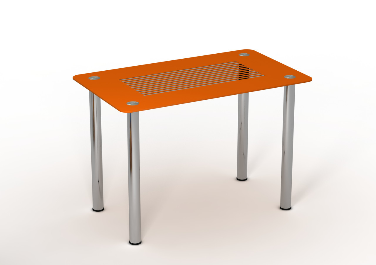 Стол Sentenzo Параллель кухонный обеденный прямоугольный стеклянный нераскладной
