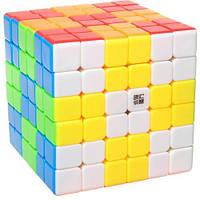 Кубик Рубика YJ YuShi color | Кубик 6х6 без наклеек