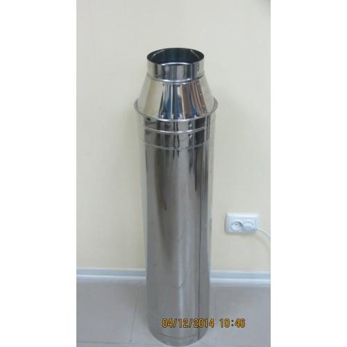 Конус 0,8 мм нержавеющая сталь + 0,5 мм нержавеющая сталь
