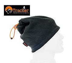 Бафф подростковый универсальный флисовый Tracker цвет черный, фото 3