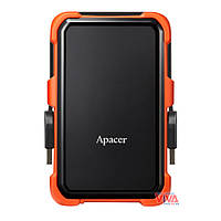 "Внешний жесткий диск Apacer AC630 1TB 5400rpm 8MB 2.5"" USB 3.1 External Orange (AP1TBAC630T-1)"