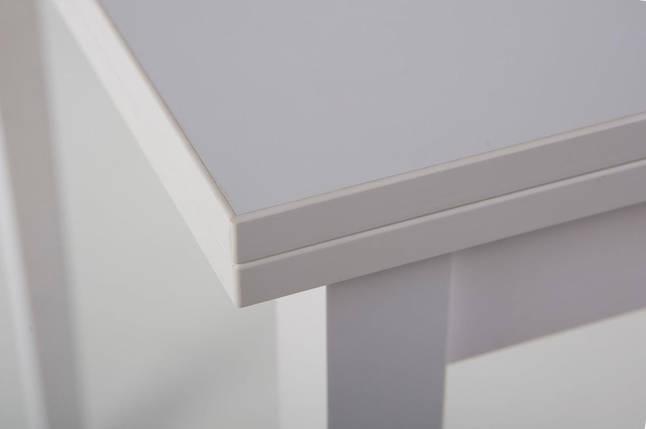 Стол Биформер Сан Марино Белый кухонный обеденный прямоугольный раскладной, фото 2