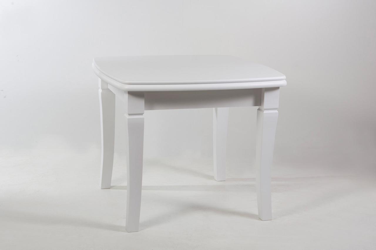 Стол Биформер Монте Карло Белый до 1,9 м кухонный обеденный прямоугольный раскладной
