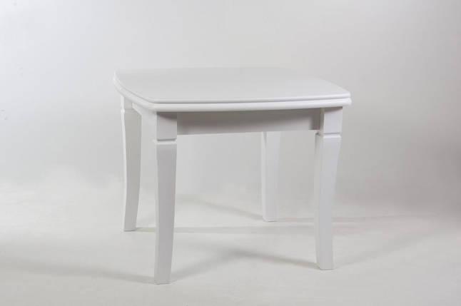 Стол Биформер Монте Карло Белый до 1,9 м кухонный обеденный прямоугольный раскладной, фото 2