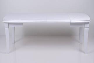 Стол Биформер Монте Карло Белый до 1,9 м кухонный обеденный прямоугольный раскладной, фото 3
