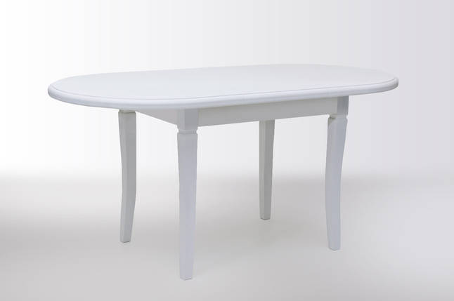 Стол Биформер Ла Рошель Белый кухонный обеденный овальный раскладной, фото 2