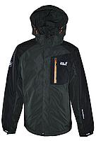 Мужская демисезонная куртка Jack Wolfskin, цвет хаки